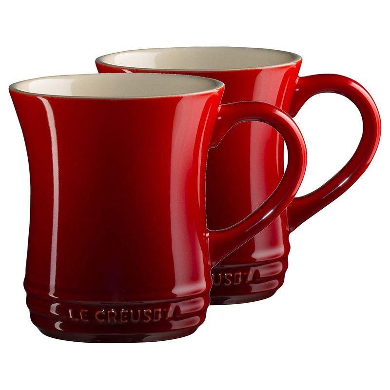 ル・クルーゼ マグカップ 420ml 2個セット Lサイズ Le Creuset Stoneware Tea Mug 14 Ounce ルクルゼ ルクルーゼ コップ カップ