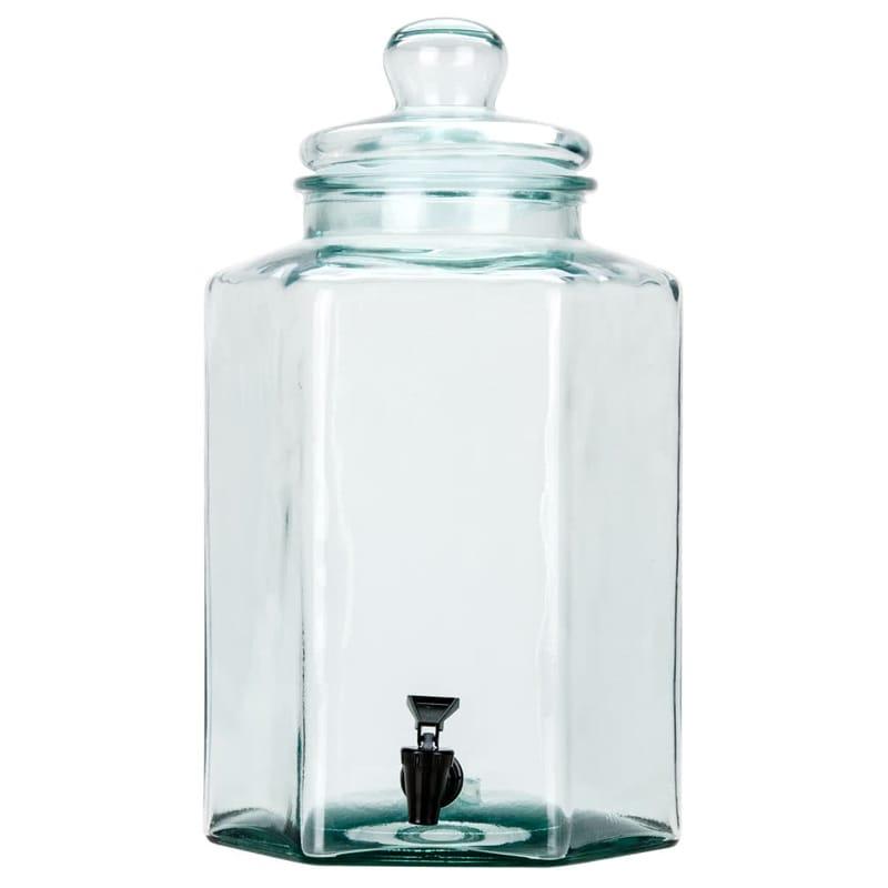 【送料無料】 ドリンクサーバー ガラスドリンクディスペンサー 7.5L レストラン カフェ ホテル Cal-Mil 1745 2 Gallon Glass Beverage Dispenser 2111745