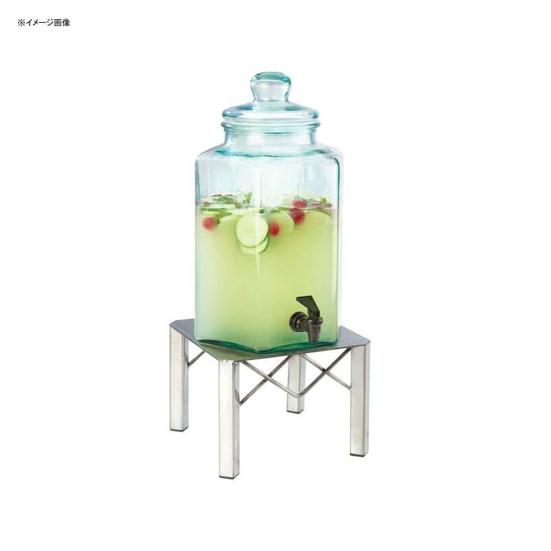 【送料無料】 ドリンクサーバー ガラスドリンクディスペンサー 7.5L メタルスタンド付 レストラン カフェ ホテル Cal-Mil 3421-2 2 Gallon Industrial Glass Beverage Dispenser 21134212