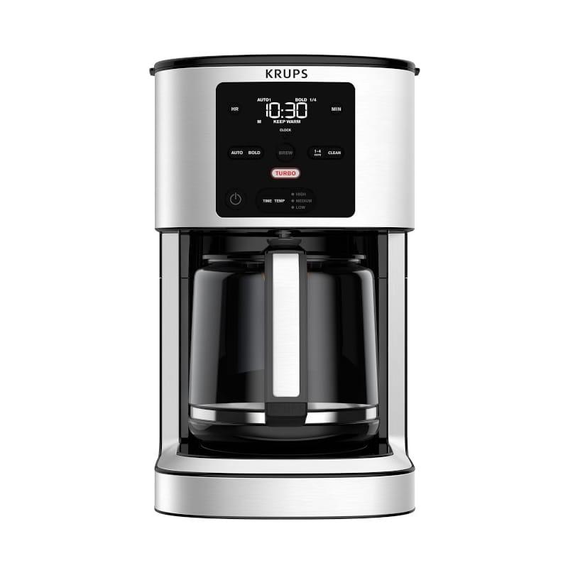 コーヒーメーカー クラップス ターボブリュー 14カップ ガラスカラフェ Krups Turbo Thermobrew Coffee Maker 家電