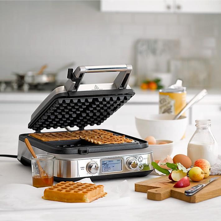【訳あり】ウィリアムズ・ソノマ限定 ブレビル スマートワッフルメーカー4枚焼Breville Smart Waffle Pro Maker 家電