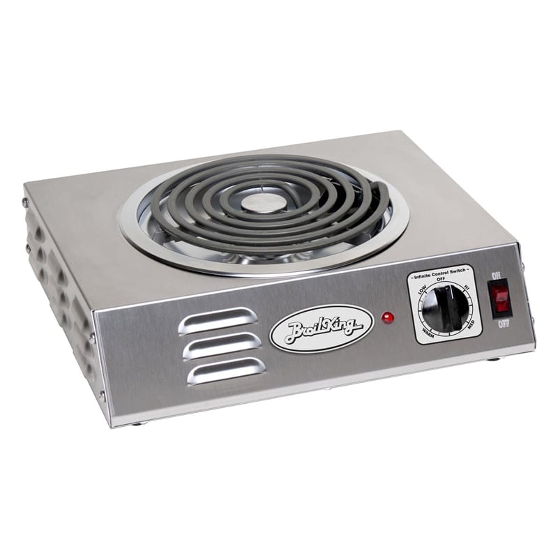 電気コンロ ブロイルキング ハイパワー 1500W 電熱器 BroilKing Professional Electric Hi-Power Hot Plate CSR-3TB 家電