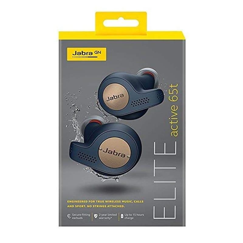 【送料無料】 ヘッドフォン ジャブラ ワイヤレス イヤホン 充電ケース スポーツ Jabra Elite Active 65t Alexa Enabled True Wireless Sports Earbuds with Charging Case
