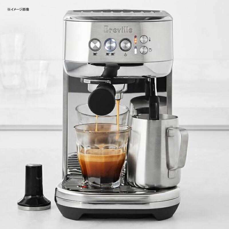 エスプレッソマシン 小型 コンパクト ステンレス ブレビル Breville BES500BSS Bambino Plus Espresso Machinel 家電