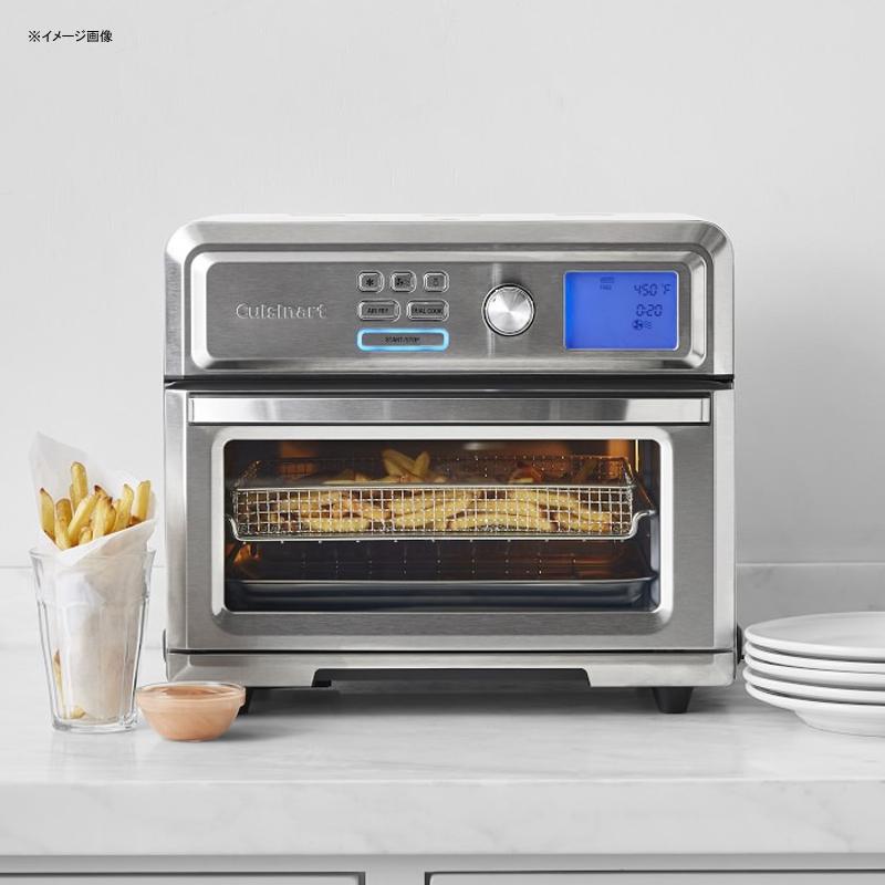 オーブン コンベクション デジタル エアフライヤー トースター クイジナート Cuisinart TOA-65 AirFryer toaster oven .6 cu ft Silver 家電