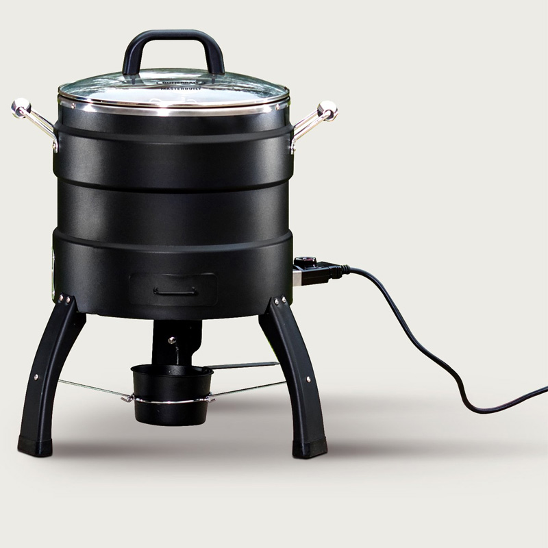 チキン丸焼き 七面鳥 電気 ロースター 温度設定付 燻製機能付 Masterbuilt Butterball Oil-Free Electric Turkey Fryer and Roaster MB23010809 家電