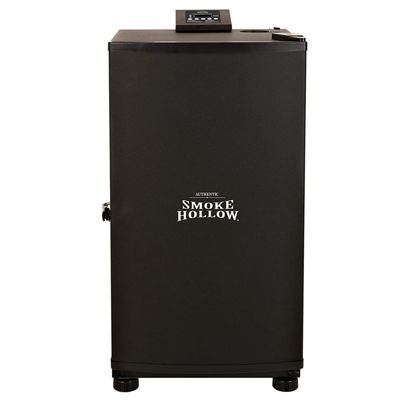 燻製機 本格 デジタル 電気スモーカー 温度設定 タイマー付 燻製器 高さ45cm Smoke Hollow SH19079518 Electric Smoker Black ES230B 家電