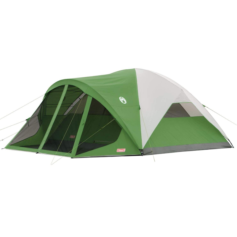 コールマン ドームテント アウトドア キャンプ 網戸付き 6人用 Coleman Dome Tent with Screen Room Evanston Camping Tent with Screened-In Porch