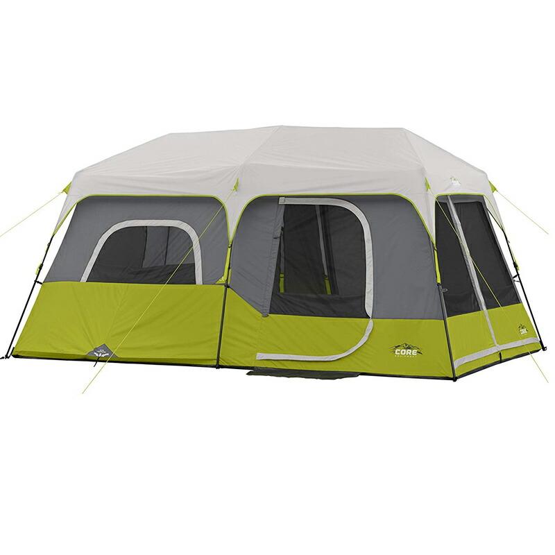 キャビンテント 最大9人 アウトドア キャンプ CORE 9P Instant Cabin