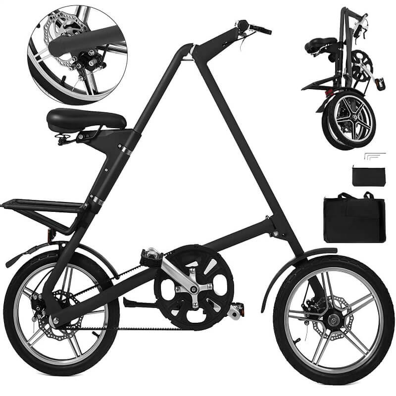 折り畳み自転車 小径 Happybuy Folding Bike Lightweight