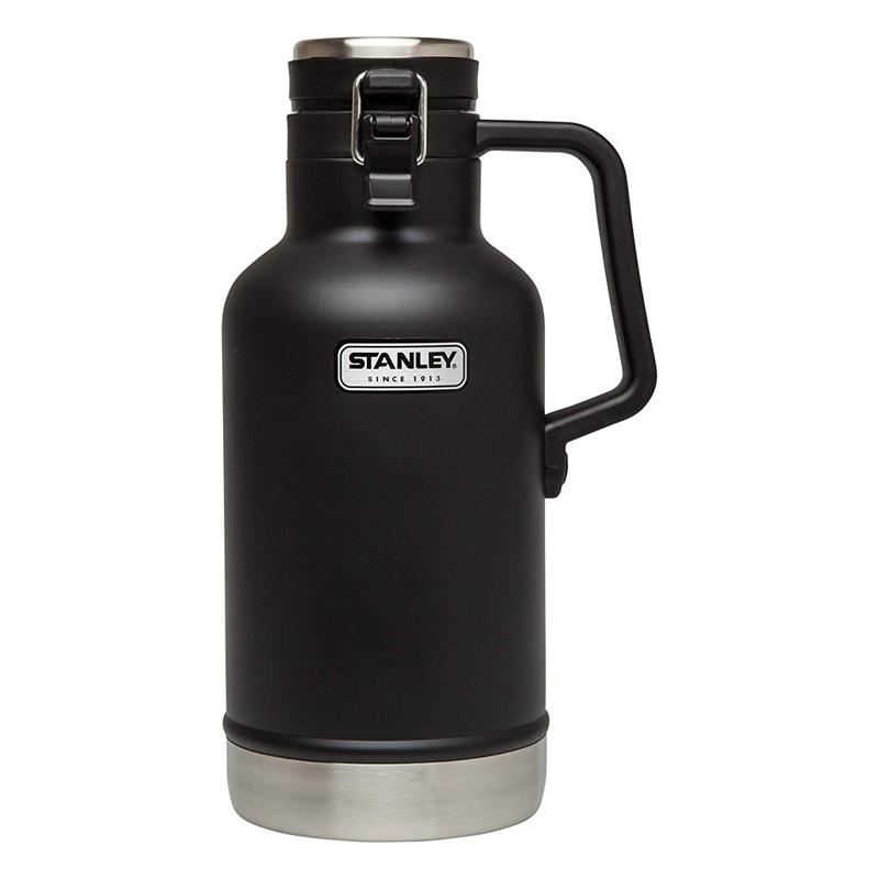 スタンレー 真空グロウラー ボトル 水筒 ビール 炭酸 1.9L 最大24時間保冷 BPAフリー アウトドア キャンプ Stanley Classic Vacuum Insulated Growler