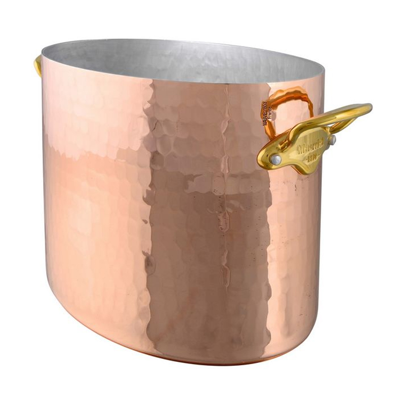 シャンパンクーラー ワイン オーバル 26cm 銅 ムビエル ムヴィエール モビエル モヴィエル モービル フランス Mauviel 1830 2707.01 M'30 Oval champagne bucket