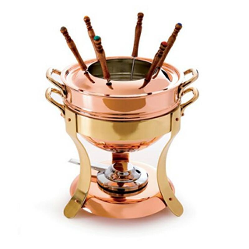 本物 30日間返金保証 送料無料 ムヴィエール モービル フォンデュセット 23x22cm 3.2L 銅 ムビエル 品質保証 Mauviel モビエル M'tradition 2719.01 Fondue フランス 1830 pot モヴィエル
