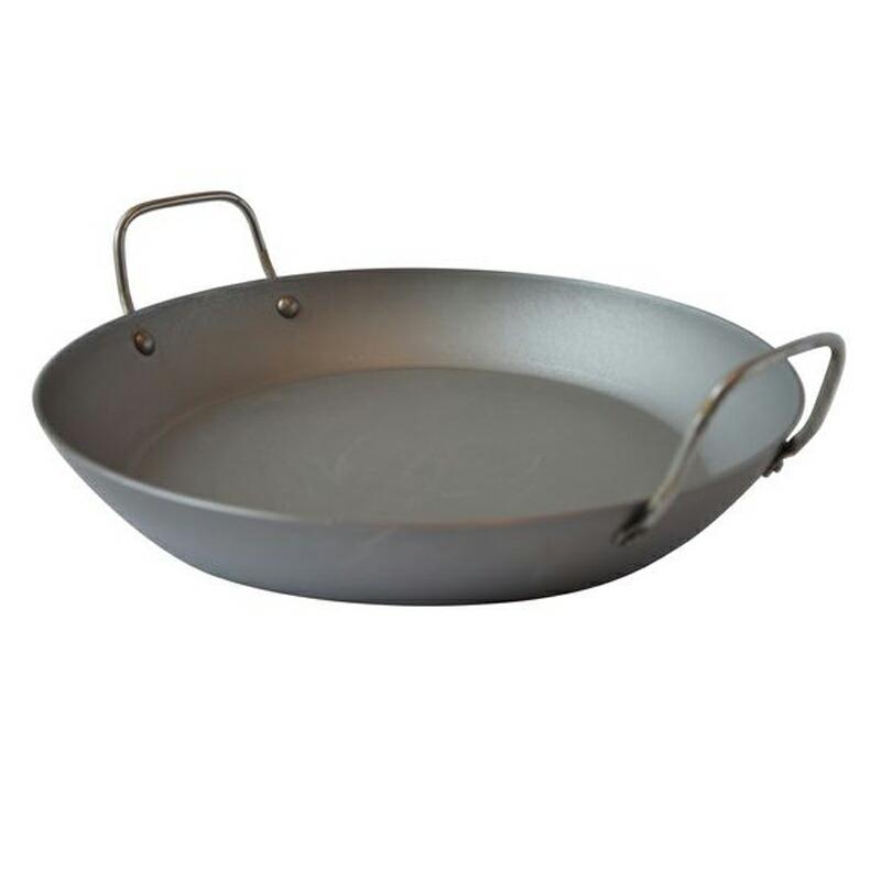 パエリアパン 36cm ブラックスチール IH対応 ムビエル フランス Mauviel 3637.36 M'steel Paella pan