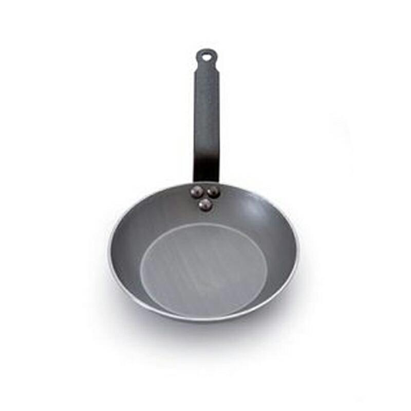 フライパン 24cm ブラックスチール IH対応 ムビエル ムヴィエール モビエル モヴィエル モービル フランス Mauviel 1830 3651.24 M'steel Heavy round frying pan