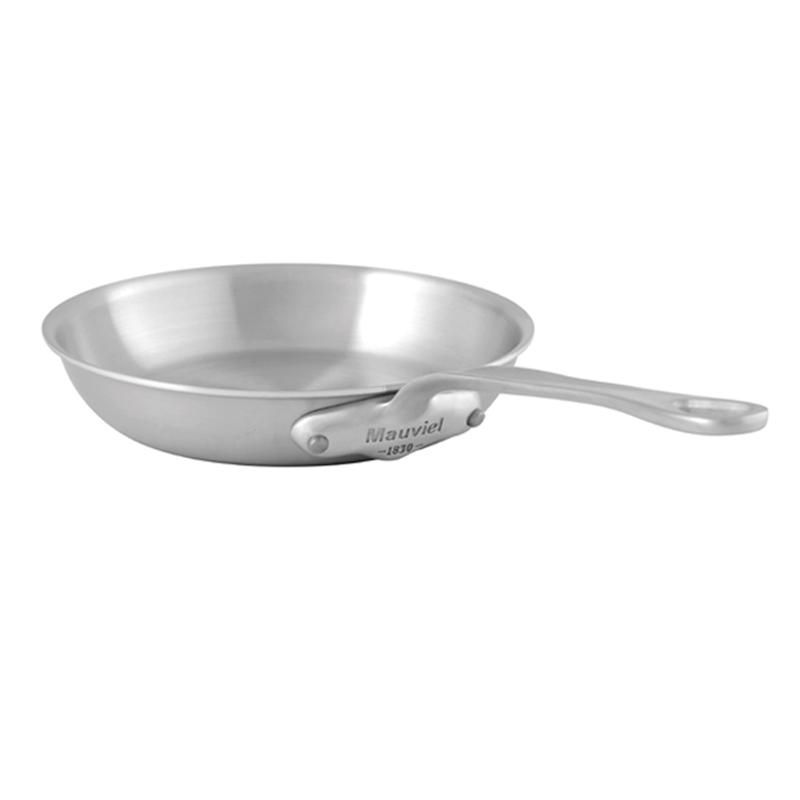 フライパン 30cm ステンレス IH対応 ムビエル ムヴィエール モビエル モヴィエル モービル フランス Mauviel 1830 5013.30 M'Urban Round Frying Pan