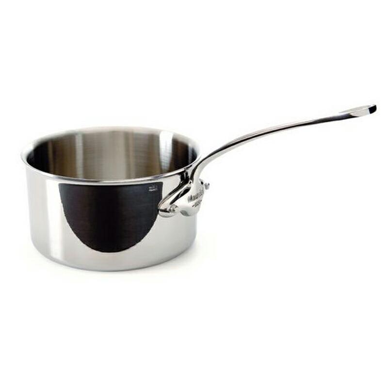 ソースパン 片手鍋 18cm 2.5L ステンレス 5層 IH対応 ムビエル フランス Mauviel 5210.18 M'cook Saucepan
