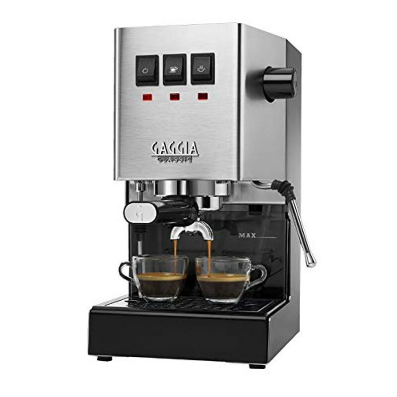エスプレッソマシン エスプレッソメーカー イタリア ステンレス ガジア Gaggia RI9380/46 Classic Pro Espresso Machine Brushed Stainless Steel 家電