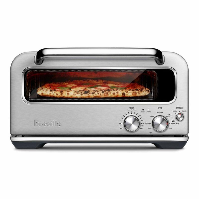 スマートオーブン ピザオーブン ブレビル Breville Smart Oven Pizzaiolo Pizza Oven BPZ800BSS 家電