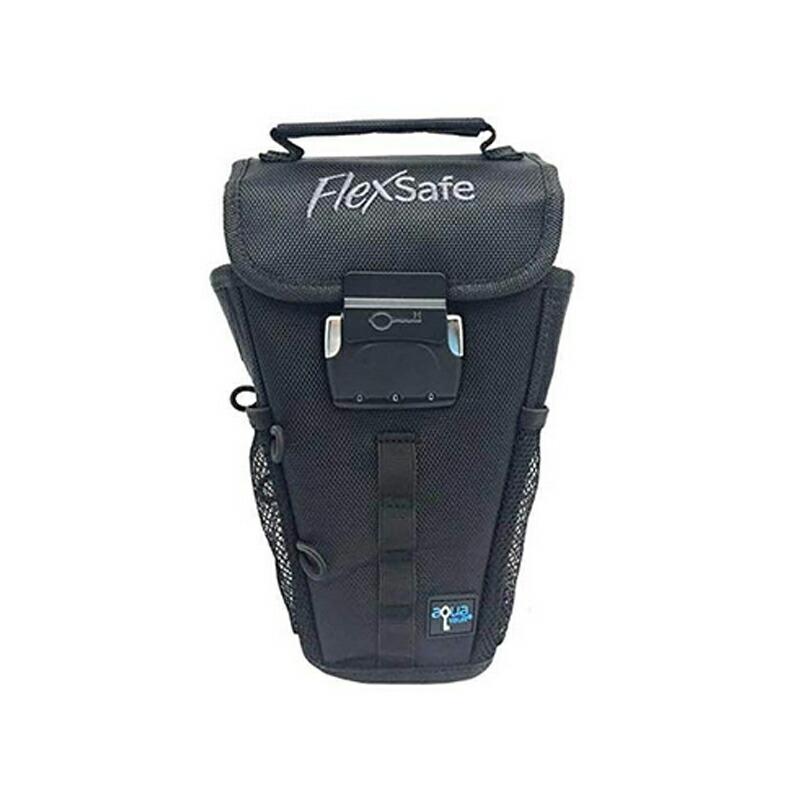 切断耐性 5層構造 ポーチ ケース 頑丈 切れない ビーチチェアー 携帯 スマホ お金 旅行 FlexSafe: Anti-Theft Portable Safe and Beach Chair Vault. Packable & Slash Resistant. As Seen on Shark Tank. 2019 Version
