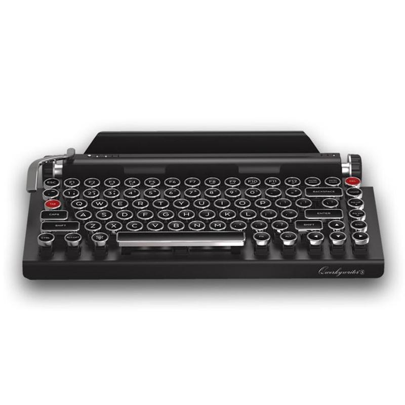 タイプライター型 キーボード タブレットスタンド付 Bluetooth接続 スマホ PC Qwerkywriter S Typewriter Inspired Keyboard