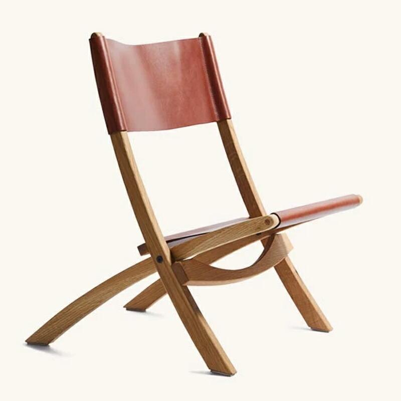 タンナーグッズ 折りたたみ椅子 フォールディングチェア アメリカ製 ホワイトオーク レザー TANNER GOODS Nokori Folding Chair