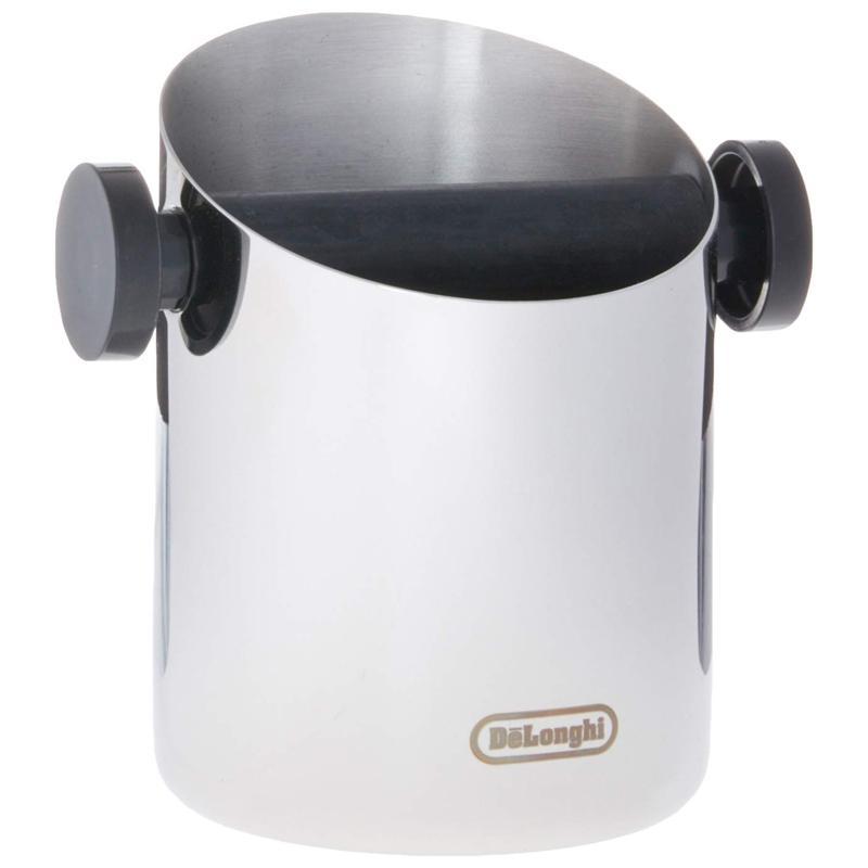 送料無料 エスプレッソ用 ノックボックス ステンレス イタリア製 コーヒーかす De'Longhi Knock Box 信託 デロンギ DLSC059 新作製品、世界最高品質人気!