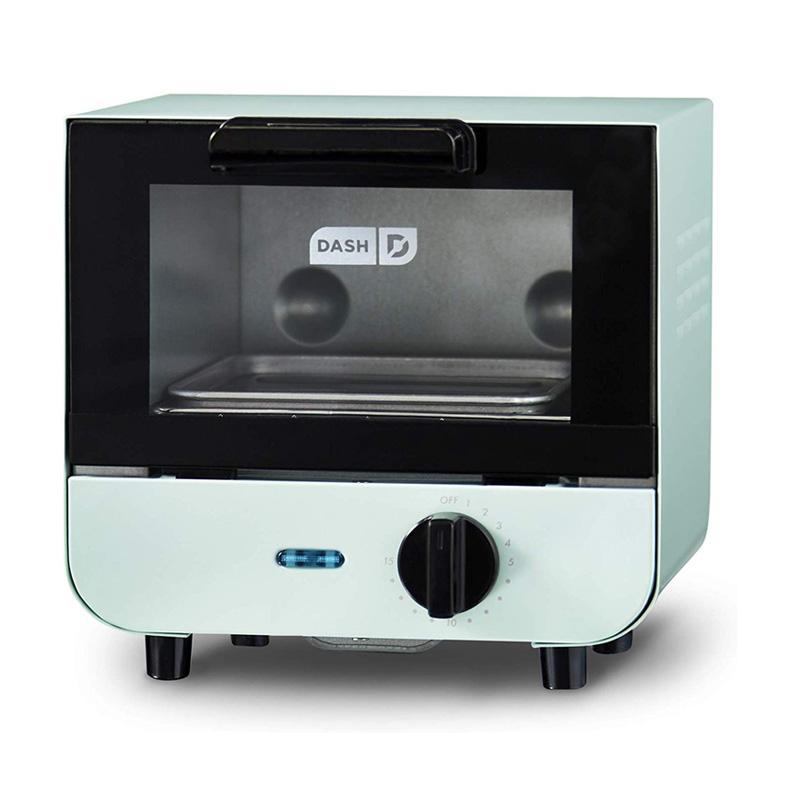 ミニトースター コンパクト カラフル かわいい ダッシュ Dash DMTO100GBAQ04 Mini Toaster Oven Cooker 家電