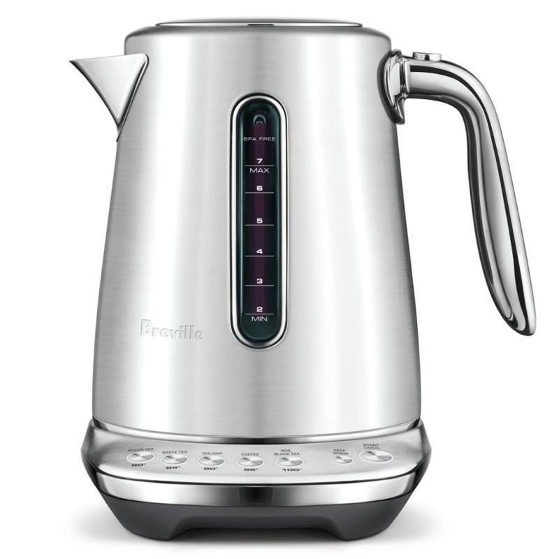 電気ケトル 1.7L 温度調節可能 20分保温 ステンレス ブレビル Breville the Smart Kettle Luxe BKE845BSS1BUS1 家電