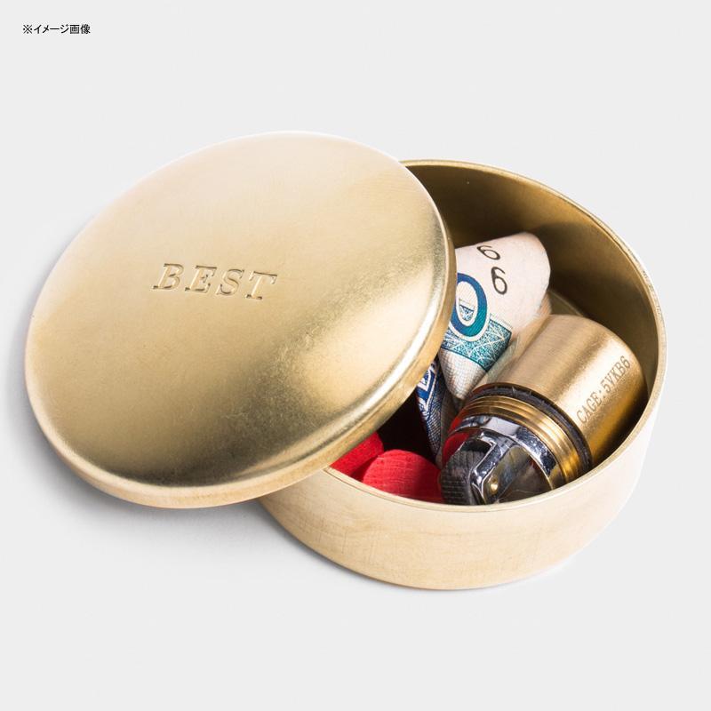 小物入れ 丸型 直径4cm アメリカ製 真鍮 ブラス 丈夫 小さいケース Best Made The Solid Brass Cap Box