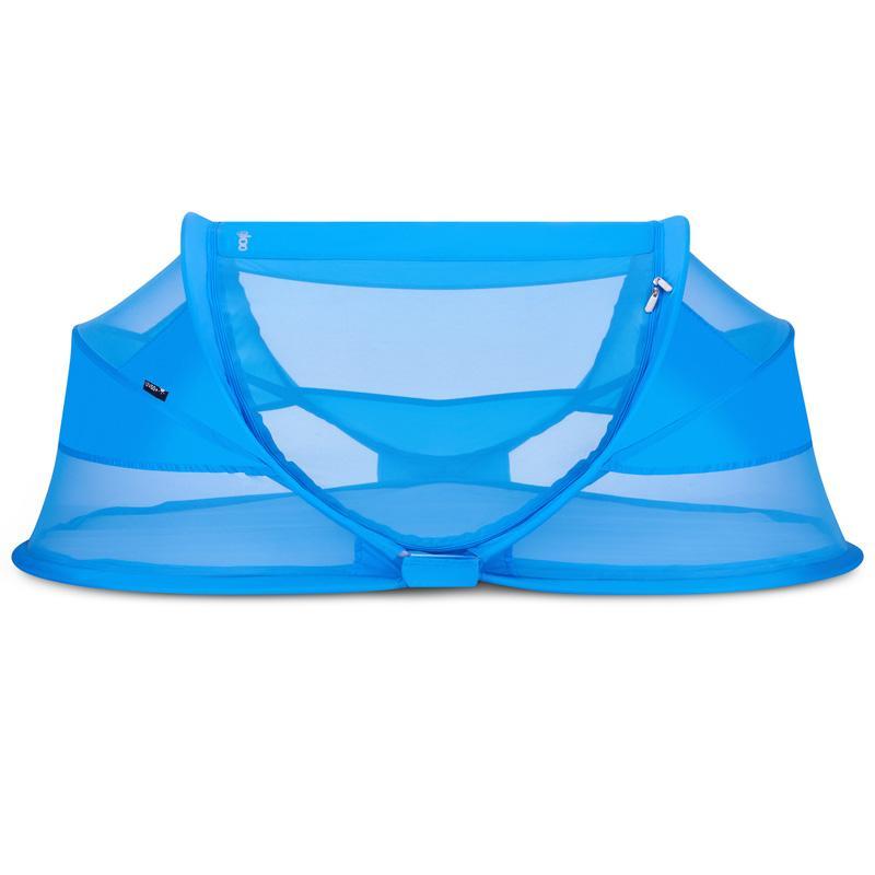 ジュービー ポータブル ベビーベッド 自動膨張式 エアーマットレス テント 持ち運び 耐露 防虫 日よけ 子ども 赤ちゃん ビーチ お出かけ Joovy Gloo Infant Travel Bed Large