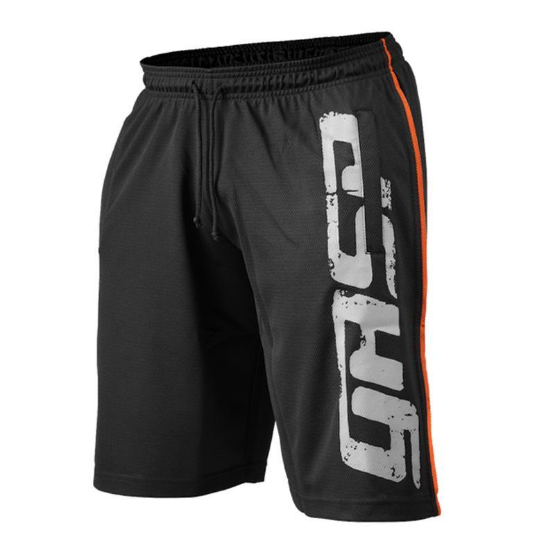 GASP プロメッシュショーツ ブラック ジム トレーニング 筋トレ GASP Pro mesh shorts, Black