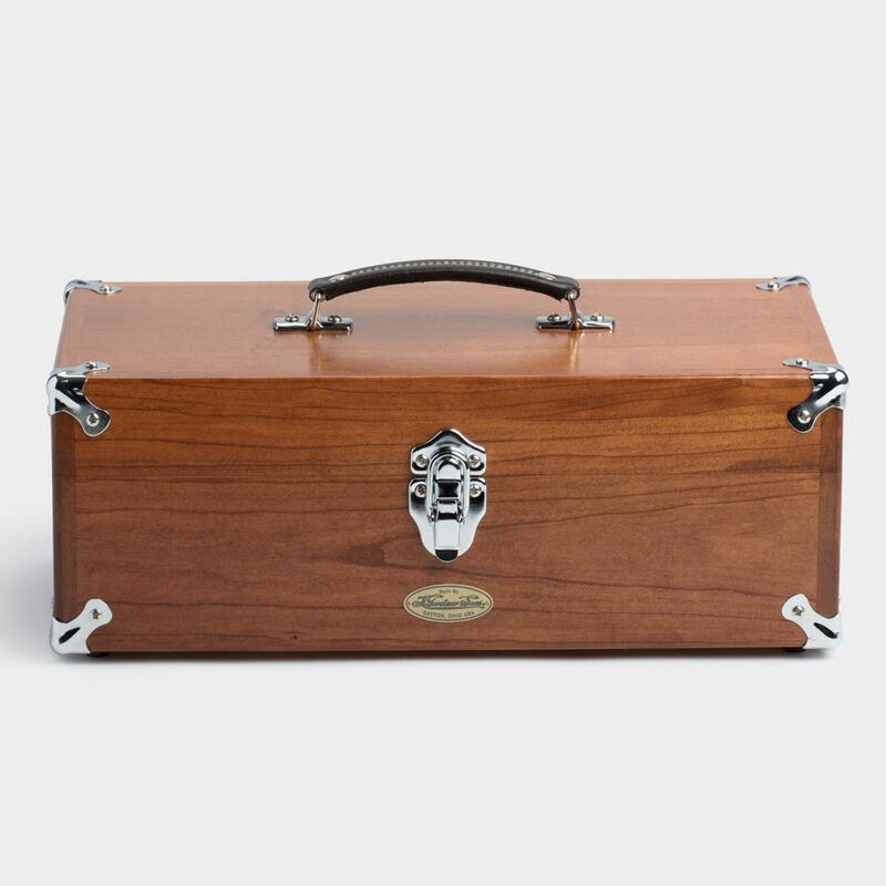ツールボックス 41cm アメリカ製 工具入れ チェリー材 Best Made The Gerstner Tote Case