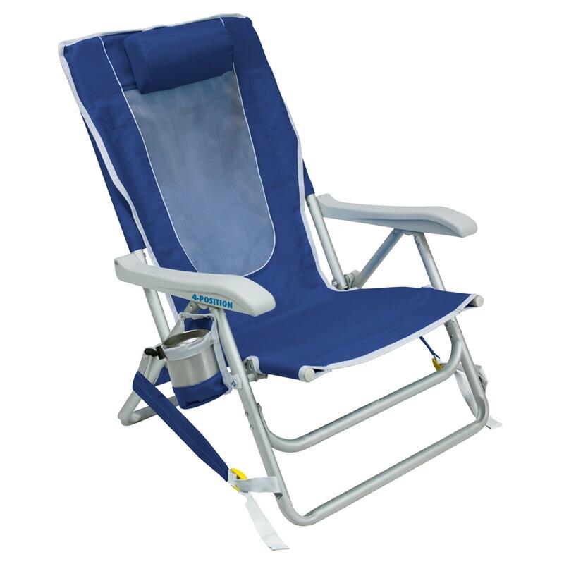 折りたたみ椅子 リクライニング 背負える バックパック ビーチチェアー アウトドア キャンプ 海 GCI Outdoor BACKPACK BEACH CHAIR