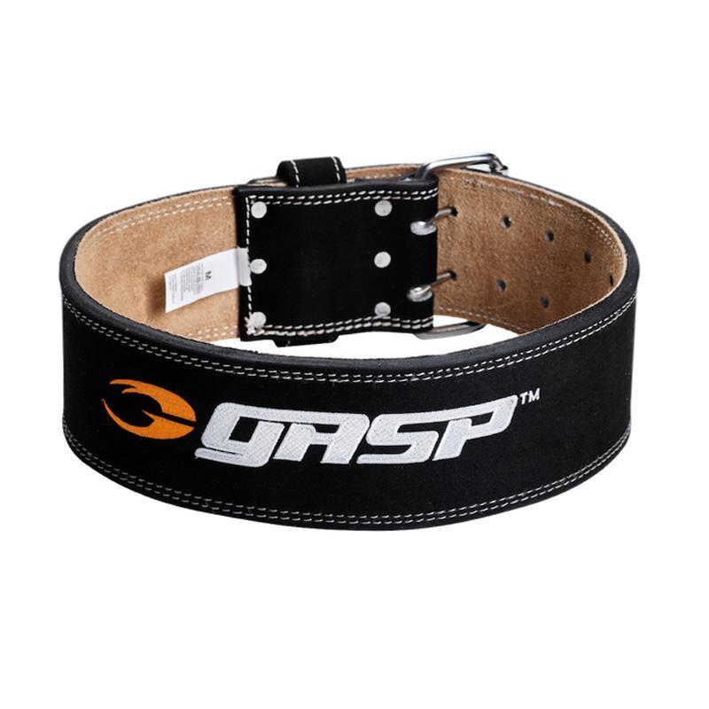 GASP ロゴ入り トレーニングベルト ブラック ジム 筋トレ GASP training belt, Black