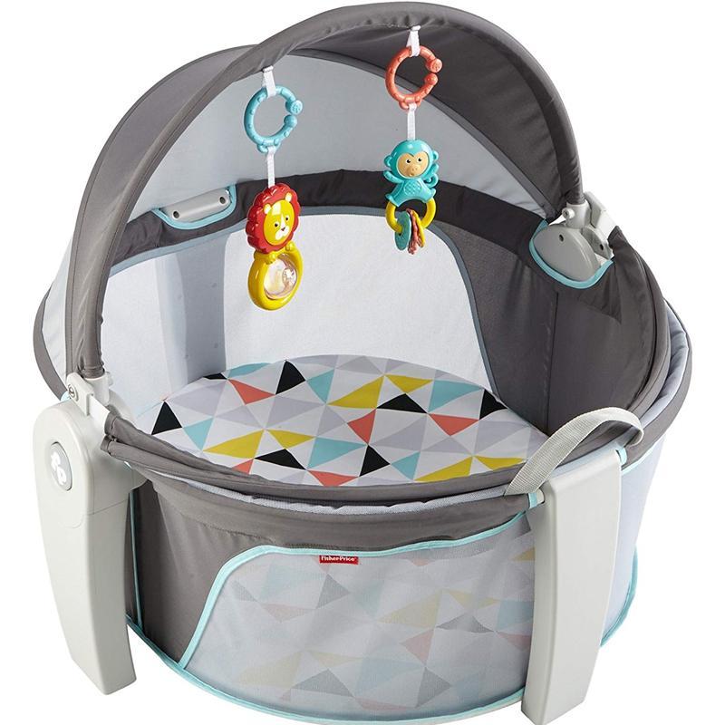 折りたたみ ベビードーム シェード付 持ち運び おもちゃ プレイスペース 子供 赤ちゃん お出かけ 屋外 Fisher-Price On-The-Go Baby Dome