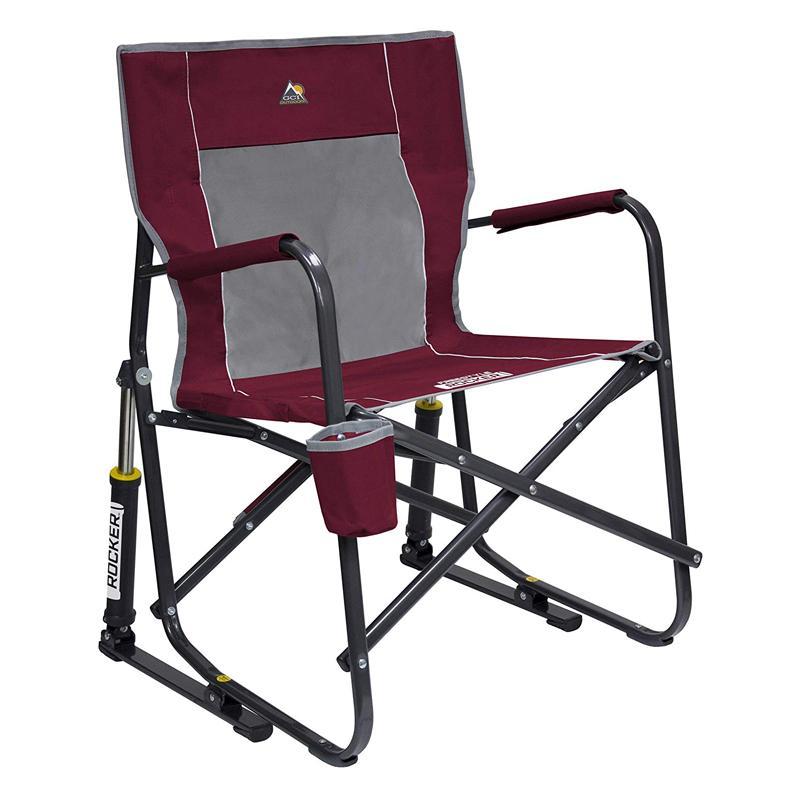折りたたみ ロッキングチェア ドリンクホルダー付 イス アウトドア キャンプ フェス ビーチ GCI Outdoor Freestyle Rocker Portable Folding Rocking Chair