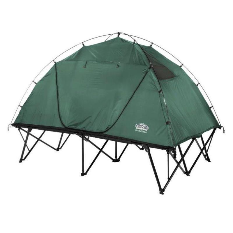 テントコット コンパクト ダブル 2人用 高床式 アウトドア キャンプ Kamp-Rite Compact Tent Cot (CTC) Double