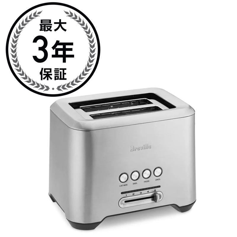 ブレビル トースター 2枚焼き Breville Bit More Toaster,2-Slice BTA720XL 家電