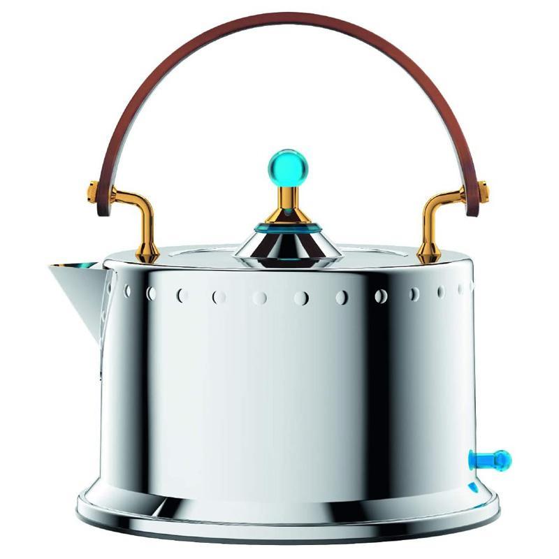 電気ケトル ステンレス 1.0L やかん型 ボダム オットーニ Bodum 12019-16US Ottoni Electric Water Kettle, 34 Oz, Stainless Steel 家電