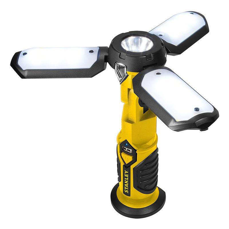 送料無料 充電式 LEDライト 最大300ルーメン 磁石付 懐中電灯 自立可能 USB スタンレー STANLEY SAT3S Rechargeable 超特価 with Lumen Ion Work Lithium Light LED Power 贈与 Charger 300 Satellite