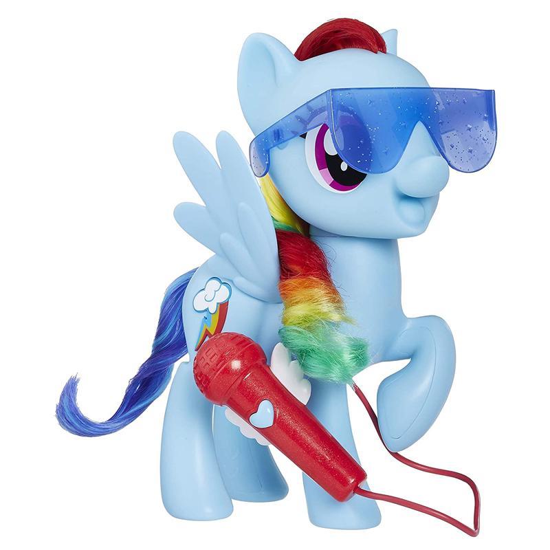 マイリトルポニー シンギングレインボーダッシュ 3つのモード 音楽 5曲 マイク 歌う おもちゃ   My Little Pony Singing Rainbow Dash