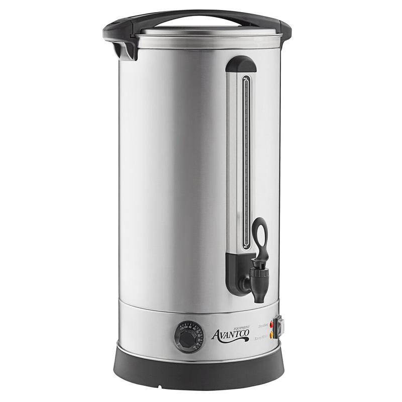 湯沸かし 29L サーバー ディスペンサー お湯 大容量 ウォーターボイラー  Avantco WB29L 7.6 Gallon 196 Cup (29 Liter) Water Boiler 1500W 家電