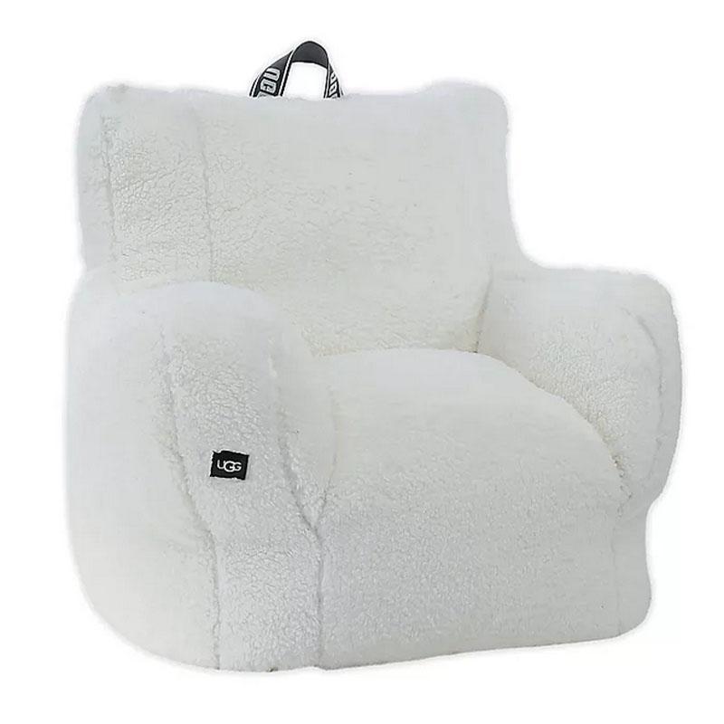 送料無料 アグ ラウンジチェア 特価 椅子 新発売 クラシックシェルパ 高さ76cmX幅66cm UGG Lounge Sherpa Snow Classic Chair in
