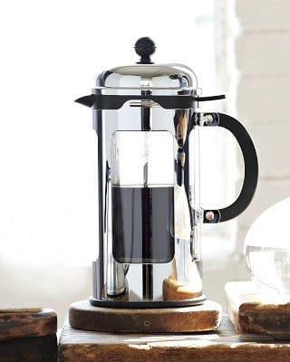 ボダム ティーポット フレンチプレス 紅茶 緑茶 コーヒーメーカー 8カップBodum Chambord French Press with Locking Lid, 8-Cup