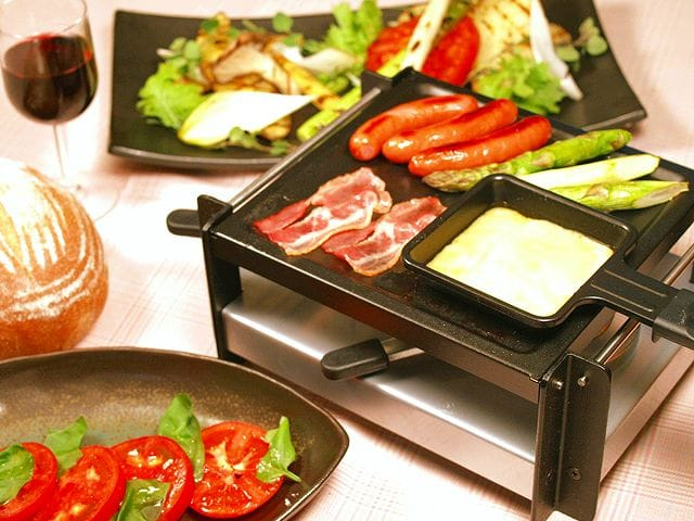 alphaespace inc rakuten global market nouvel raclette grill burner type 4 for nouvel. Black Bedroom Furniture Sets. Home Design Ideas