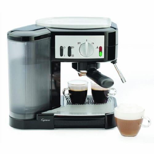 カプレッソ エスプレッソ カプチーノマシン 115.01 Capresso Café Espresso and Cappuccino Machine 家電