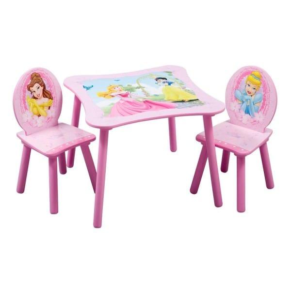 ディズニー TT89183PS プリンセス テーブル・椅子セット Delta Disney Princess Table and Chair Set