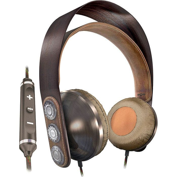 ヘッドフォン マイクロフォン / コントローラー付House of Marley Exodus Headphones with Mic and Controller