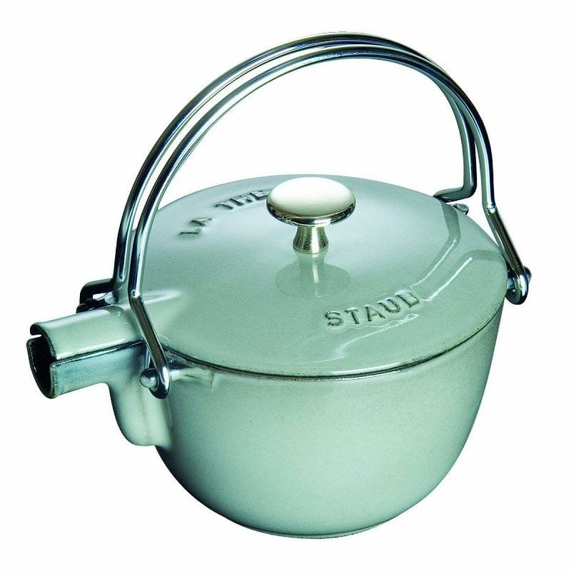0.95L Graphite フランス Grey ヤカン(ケトル) ストウブ グラファイトグレイStaub Round Teapot La Theiere
